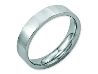 Chisel Stainless Steel Flat 5mm Polished Weeding Band