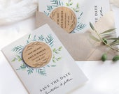 Save The Date Cards Wooden Save The Date Magnets