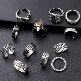 Stainless Steel Ring (Various Designs)