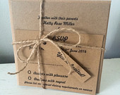 Its a Vintage Affair Collection, Wedding Invitation (Day)