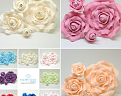 SUGAR ROSE FLOWERS wedding cake birthday cake topper decoration with diamante (wired) multi buy pay 1 flat rate postage cost