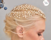 Pearl Hair Comb, Jewelry for Hair, Bridal Hair Clip, Wedding Hair Piece, Pearl Bridal Hairpiece, Luxury Bride Accessories, Single Side
