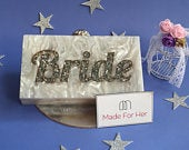 Personalized Clutch,Bridal Clutch,Personalised name Clutch,Custom name bag,Resin Clutch,clutch bag for wedding,Bridal name bag,Marble Clutch