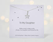 Daughter On Her Wedding Day Gift, Mother Daughter gift, My Daughter Necklace, Gift For Bride From Mother, Daughter Wedding Day Poem,