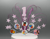 Mr Tumble Bing Cbeebies Birthday Cake Topper Spray Cake Decoration Stars on Wires 1st 2nd 3rd 4th 5th 6th any age any colour any theme 004
