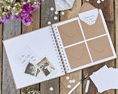 Best Day Ever guest book Rustic wedding guest book Kraft envelope guest bookRustic country wedding picture guest bookWedding guest book