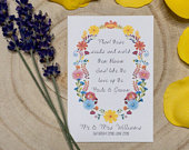 Personalised Wedding Favour Seed Packets x10