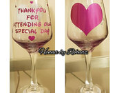 Bridesmaid cup,bridesmaid wine glass,Bachelorette party favor,wine tumbler,wine glass,personalized wine cup,bridesmaid gift,bridal party