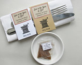 Wedding Herb and Spices Favors, diy Personalized Party Gifts for Guests. BBQ Rub, in Rustic and White