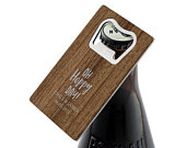 Personalised Metal And Wood Veneer Bottle Opener Custom Wedding Favour Stag Party Favour Groomsman Gift Variety Of Designs Available