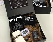 Father of the Bride Survival Kit Personalised Father of the bride Gift Idea Gift Hamper Box