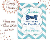 Personalised Page Boy Puzzle Thank You Will You Be My Page Boy Proposal Gift Best Man Usher Bag Box Bridesmaid Wedding Ask Asking Etc