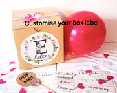 Will you be my bridesmaid proposal balloon pop me Balloon in a box.