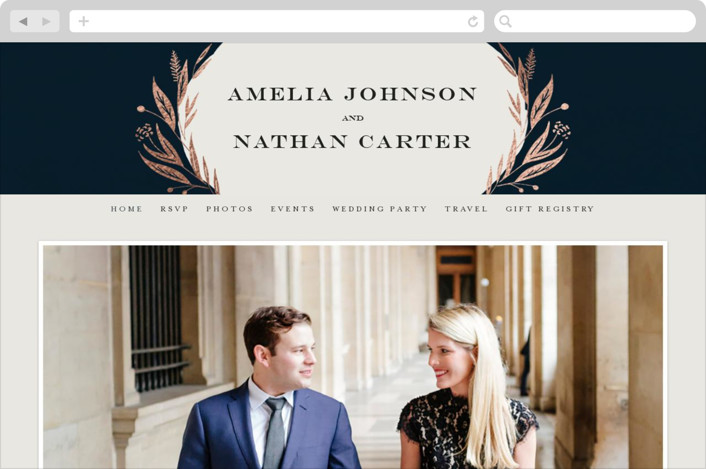 Autumn Storm Wedding Websites