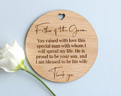 Wedding Place Cards, Father Of Groom Place Cards, Wedding Name Place Cards, Table Setting, Rustic Place Card, Wedding Favour Keepsake