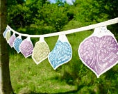 Wedding Bunting, Tree of Life, summer Bunting, Bunting, Love, Garden Bunting, Tree of Life Bunting, Garden Wedding, summer Wedding