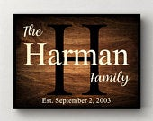 Personalized Family Name Sign, Wedding Gift, Personalized Wedding Gifts, Wooden Name Sign, Gifts for Men, Gift for Couple, Rustic Wood Sign