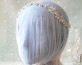 PASSIONATE Crystal Pearl Wedding Hair Vine Crystal Hair Vine, Bridal Hair Vine, Hair Vine, Wedding headpiece, Headdress, Hair Jewelry,
