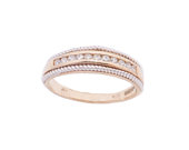 9ct Gold diamond wedding ring band 0.15cts diamonds Jewellery Company