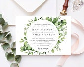 Greenery Save the New Date Announcement, Change the Date Postcard,PRINTED Change the Date, Minimal Wedding Postponement, Change the Date,DIY