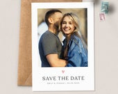Save the Date Cards, Photo Save the Date Wedding, Save the Dates with Photo, Simple Save the Date Card, Save the Date Postcard Pack 084