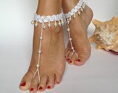 Barefoot sandals,Beaded lace sandals,Bridal barefoot sandals,Beach barefoot sandals,Beach wedding barefoot sandals,Wedding barefoot sandals