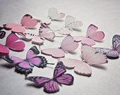 Pretty Silk Butterfly Hair Clips Pick your own colours!