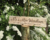 Mr And Mrs Personalised Sign, Wedding Sign With Date, Rustic Wedding Signs, Handmade Wooden Signs, Wooden Wedding Signs, Wedding Signs