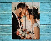 Personalized Wedding Gift For Couple Gift Personalized Unique Gifts For Women Gift Wedding Decor Wedding Picture Frame Wood Wall Art Rustic