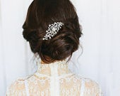 Crystal Divine Hair Comb, Available in Silver, Rose Gold or Gold, Bridal Accessories, Bridal Hair, Bridesmaid Hair, Bridal Comb
