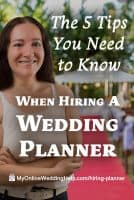 The 5 Tips you Need to Know When Hiring a Wedding Planner