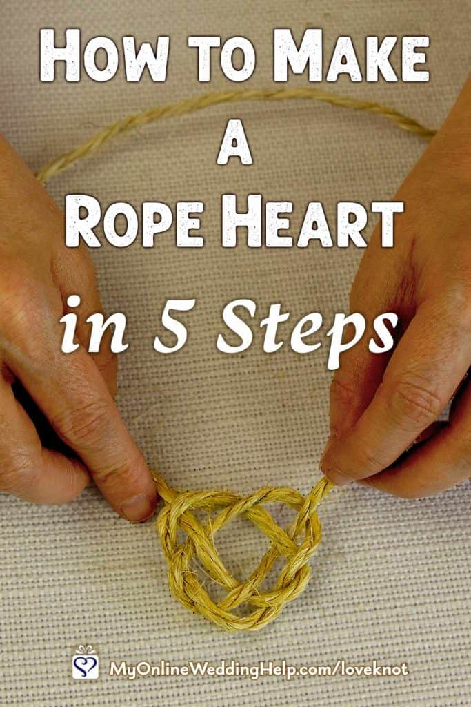 How to Make a Rope Heart in 5 Steps