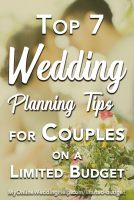 Top 7 Limited Budget Wedding Planning Tips