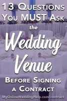 Wedding Venue Contract Tips: 13 Questions to Ask Before Signing