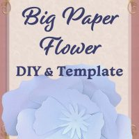 DIY Giant Paper Flowers: Step by Step