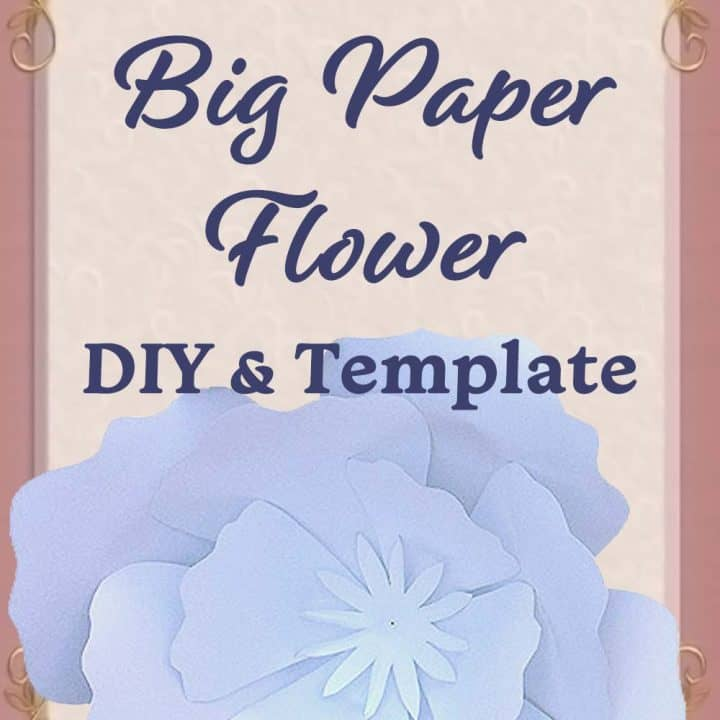 Printable Summary: DIY Giant Paper Flowers