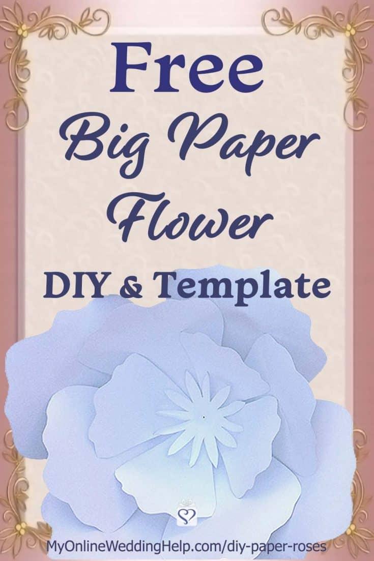 DIY Giant Paper Flowers 1