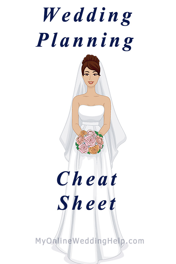 wedding planning checklist detailed printable cheat sheet my