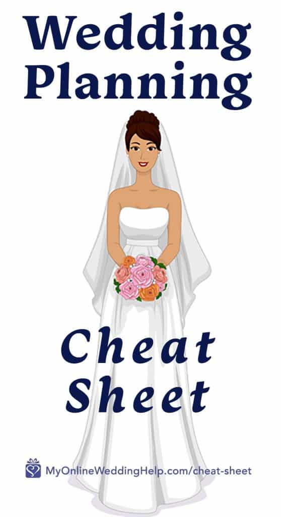 Wedding Planning Cheat Sheet