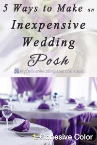 5 Ways to have a Posh, Luxury-Look Wedding on a Small Budget 10