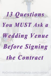 15 Must-Know Questions to Ask Your Wedding Venue. Complete Guide. 6