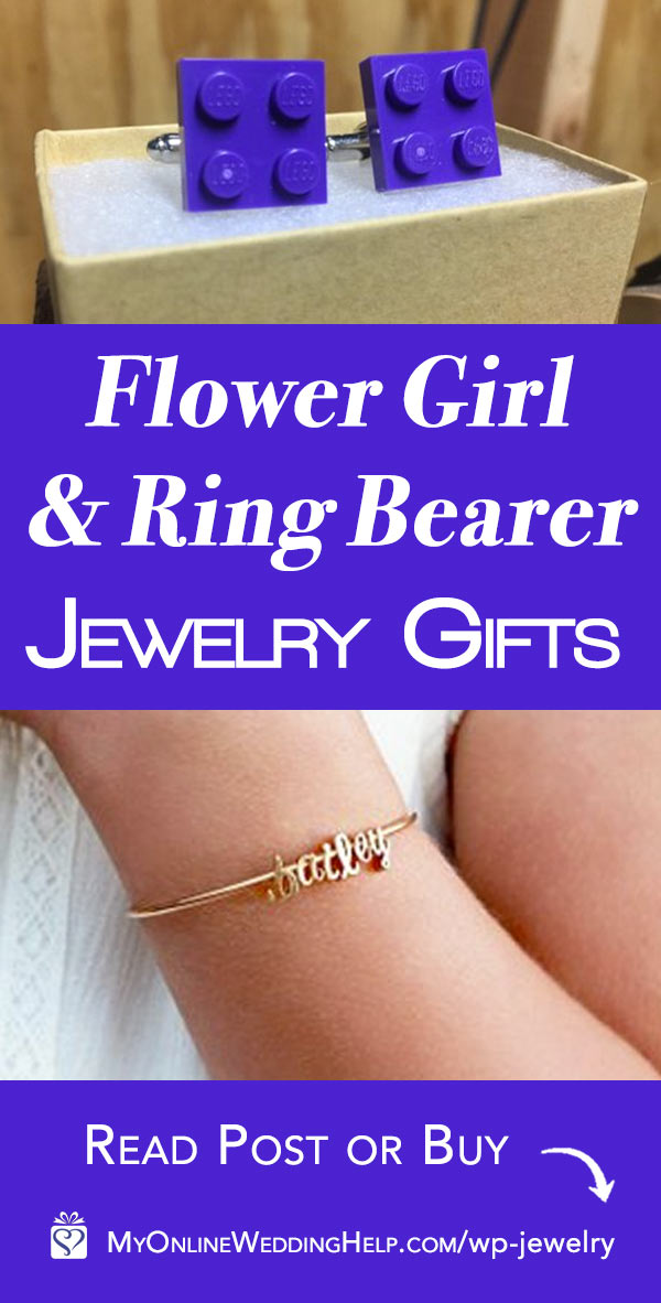 Flower Girl and Ring Bearer Wedding Jewelry Gifts