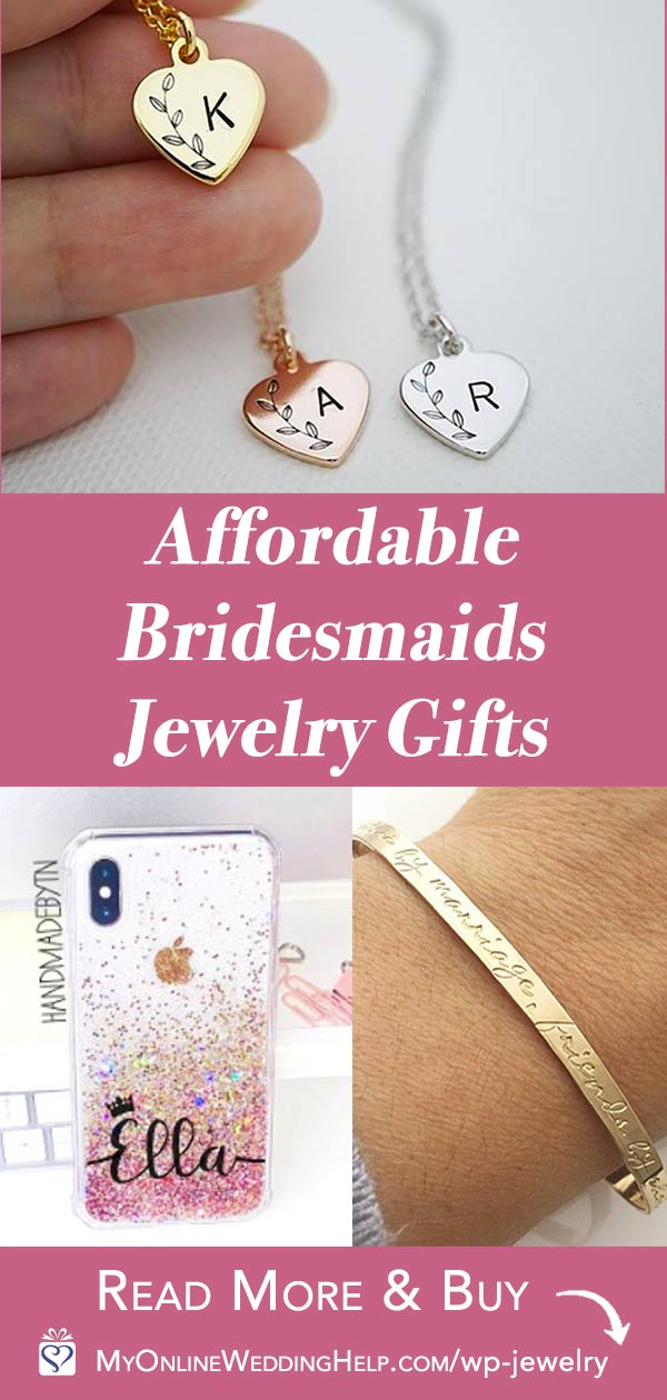 Affordable Bridesmaids Jewelry Gifts