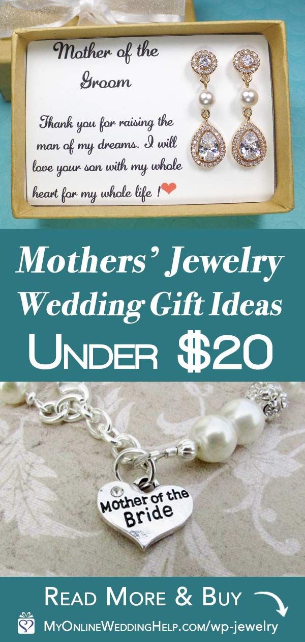 Mother of the Bride or Groom Gift Jewelry