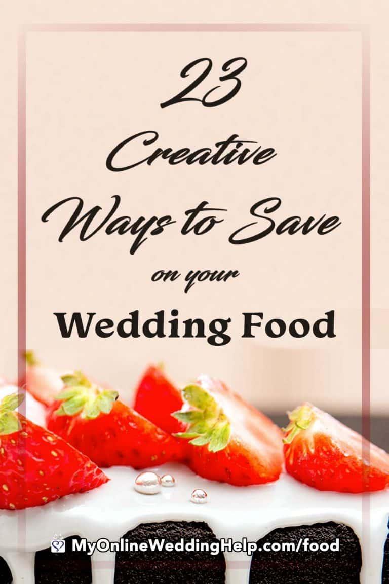 23 Wedding Food Ideas On A Budget Chop Costs My Online Wedding