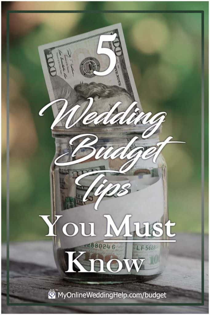 5 Wedding Budget Tips You Must Know