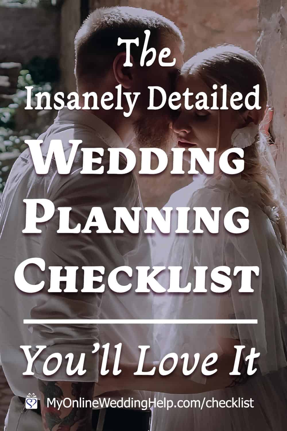 This 300-item, complete wedding checklist has planning tips and ideas, too. It's everything to help you plan your own wedding. Sections include complete ... read it on the My Online Wedding Help blog. #WeddingIdeas