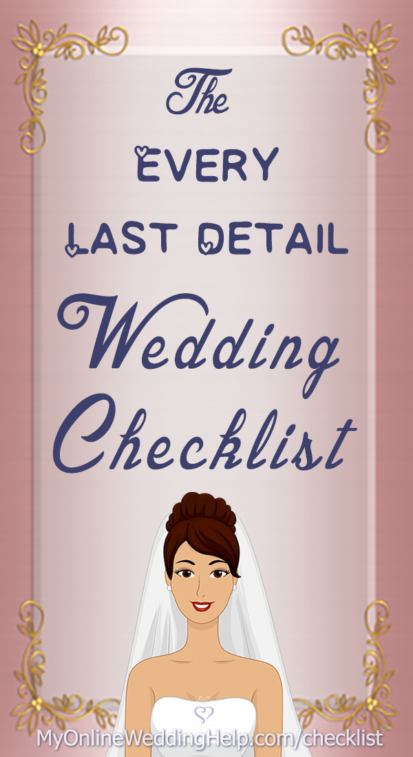 your complete wedding checklist  u0026 timeline