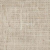 White Burlap Fabric