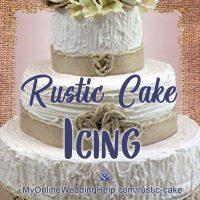 Rustic Cake Icing